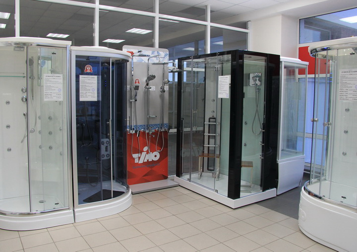 Душевые кабины TIMO  в Казани